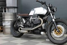 Moto Guzzi Scrambler by Radical Guzzi #motorcycles #scrambler #motos |