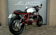 "Moto Guzzi SP 1000 Cafe Racer ""Zani"" by Nico Dragoni Motociclette #motorcycles #caferacer #motos 
