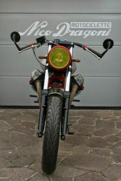 "Moto Guzzi SP 1000 Cafe Racer ""Zani"" by Nico Dragoni Motociclette #motorcycles #caferacer #motos |"