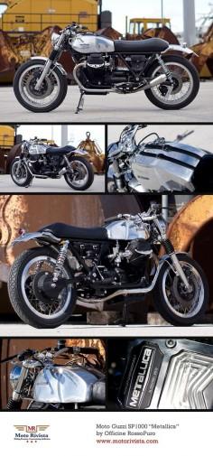 Moto Guzzi SP1000 Italian custom by Officine RossoPuro