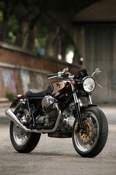 Moto Guzzi TT Brat Style #motorcycles #bratstyle #motos |