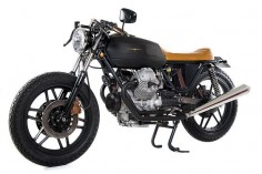 Moto Guzzi V35 Black Boot ~ Return of the Cafe Racers