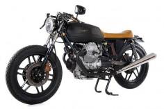 Moto Guzzi V35 Black Boot ~ Return of the Cafe Racers