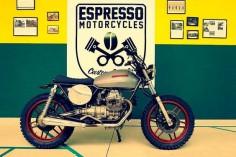 Moto Guzzi V35 - Espresso Motorcycle - RocketGarage