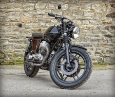 MOTO GUZZI V50 'THE BONHAM' - LA BUSCA MOTORCYCLES - THE BIKE SHED