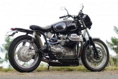 Moto Guzzi V7 Ambassador Bobber by 46Works #motorcycles #bobber #motos |