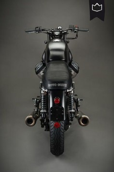 Moto Guzzi V7 Brat Style by La Corona Motorcyles