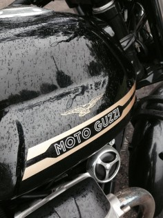 Moto Guzzi V7 Classic close up