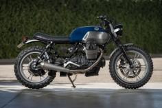 Moto Guzzi V7 customized by CRD