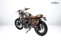 "Moto Guzzi V7 ""Ibis"" by South Garage Motorcycles"