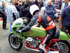 Moto Guzzi V7 Sport racer