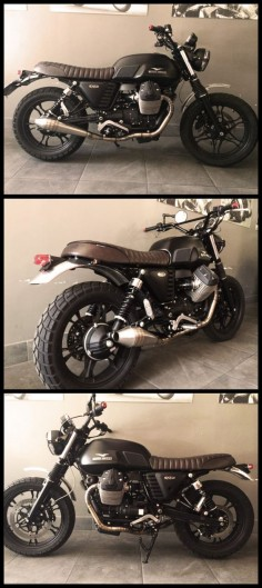 Moto Guzzi V7 Stone - Custom Scrambler by Max Moto Roma