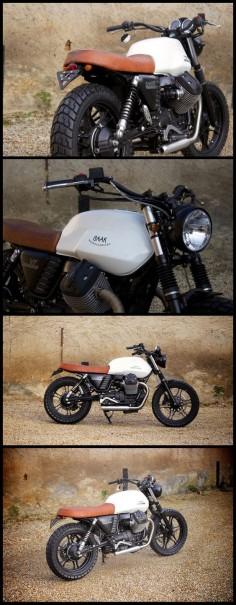 Moto Guzzi V7 tracker by BAAK