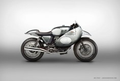 Moto Guzzi V7GP concept by Jakusa Motorcycle Design #motorcyclesdesign #diseñodemotos |