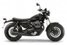 Moto Guzzi V9 Bobber studio side view