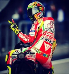 MotoGP and the legend that is Valentino Rossi.