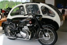 Motorcycle and Sidecar - Nice #