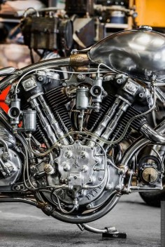 Motorcycle engine. Monster