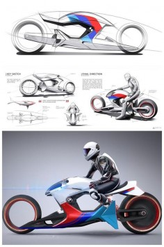 Motorcycle [Futuristic Bikes: ]