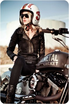 Motorcycle Girl