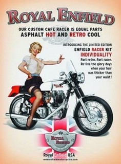 Motorcycle Pin-ups