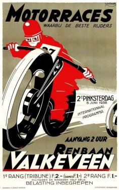 Motorraces, Valkeveen, the Netherlands