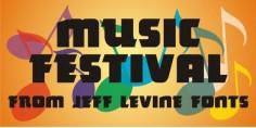 Music Festival JNL font download