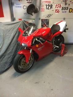 My Ducati 748s