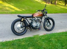 My freebie 1973 CB450 Brat / Cafe / Whatever you call it