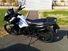 My new KLR 650  Kawasaki KLR 650