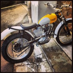my #tigercub #triumph #classictrials #pre65trials