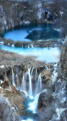 National park Plitvice Lakes in #Croatia