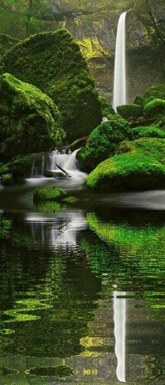 Nature - Elowah Falls, Oregon
