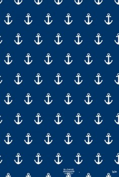 navy & white anchor background