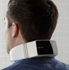 Neck Massager with Wireless Remote Control #wellness #massage #gadget