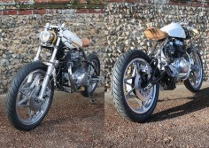 Never idle - Thassophobia Honda CB450 on