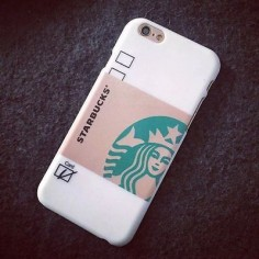 "New Fashion Frosted Starbucks PC Phone Back Case cover For iphone 6 ""/Plus"