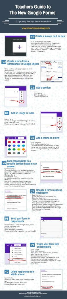 new google forms tips