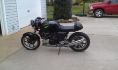 New member and Project - Ninja 250 Cafe Racer