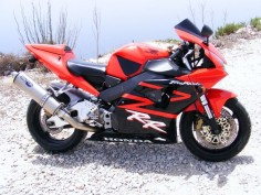 New Member Photo : Here is Hondaboys Gorgeous red and black CBR 954 RR