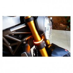 New Rage Cycles Snap-On Fork Mount LED Turn Signals