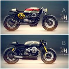 Nieuwe Moto Guzzi Cafe Racer Ontwerp Fiets Doc Jensen Guzzi> Doc Jensen Guzzi