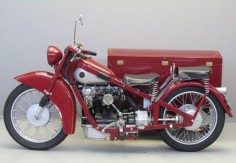 "nimbus Motorcycles | Nimbus 1936 746 cc OHC four in line ""Luxus"" sidecar combination ..."