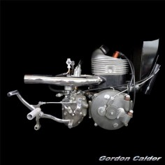 (No. 103 ~ CLASSIC 1939 DKW SS350 MOTORCYCLE ENGINE, by Gordon Calder, via Flickr, 3,000,000 Views!)