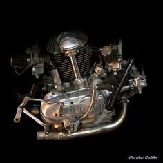 No 2: CLASSIC DUCATI 750SS MOTORCYCLE ENGINE by Gordon Calder, via Flickr