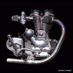 No 3: CLASSIC 500cc ROYAL ENFIELD MOTORCYCLE ENGINE by Gordon Calder, via Flickr