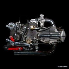 NO 33: VINTAGE MOTO GUZZI DONDOLINO 1946 MOTORCYCLE ENGINE by Gordon Calder, via Flickr