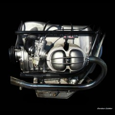 NO 59: CLASSIC BMW R90 MOTORCYCLE ENGINE | by Gordon Calder