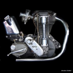 NO 8: CLASSIC NORTON INTERNATIONAL MOTORCYCLE ENGINE by Gordon Calder, via Flickr