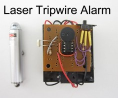 No security system is complete without lasers. So in this project I am going to show you how to build a laser tripwire alarm from a laser point,